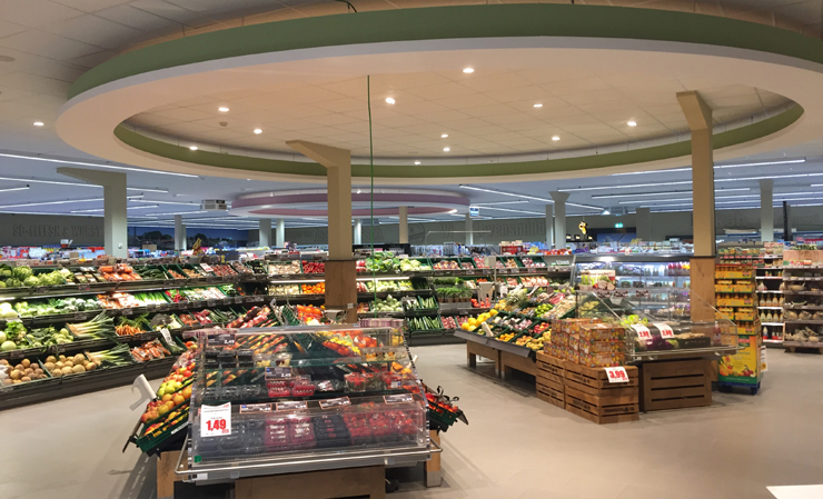 Supermarkt Rah in Greetsiel